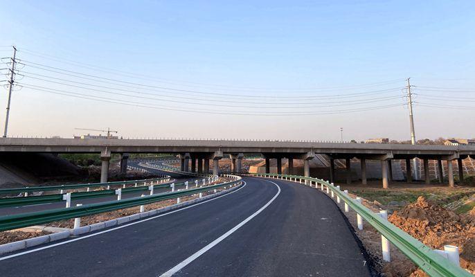 中国十七冶克服难关 承建河南孟津交通基础设施一期工程如期全线通车